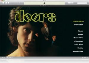 Интерфейс iTunes LP