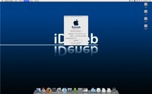 Сборка iDeneb портит даже стандартную картинку Рабочего стола Mac OS