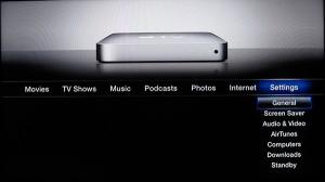 Интерфейс Apple TV