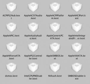 Вот таким может быть список нужных вашему компьютеру кекстов