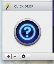 Функция Quick Drop