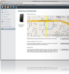 Отслеживание iPhone по GPS