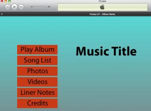 Демонстрационный образец iTunes LP