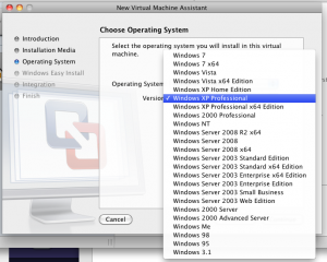 Все поддерживаемые версии Windows