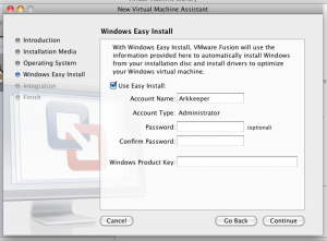 Регистрационные сведения Windows