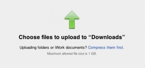 Заливка файлов на iDisk