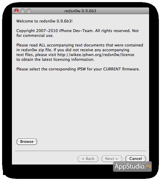 Download redsn0w 0.9.6b5