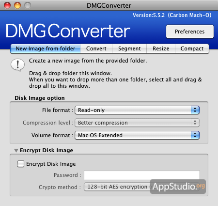 convert rdr to iso