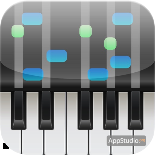 приложение пианино