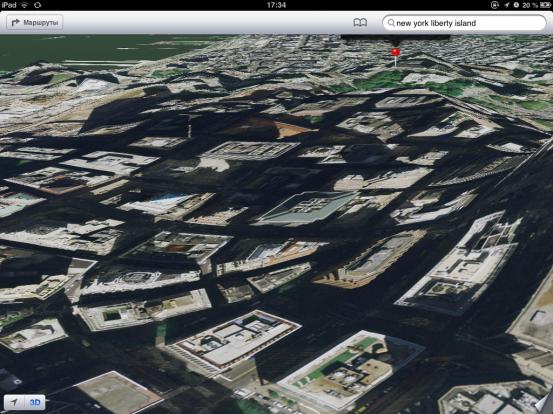 3D-режим карт iOS 6