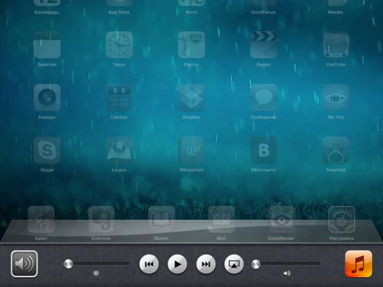Док многозадачности в iOS 6
