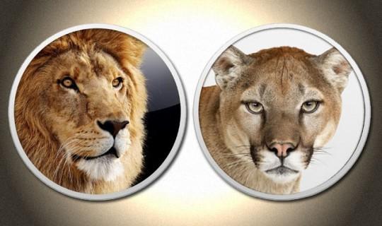 OS X Lion и Mountain Lion