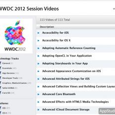 Видео WWDC 2012