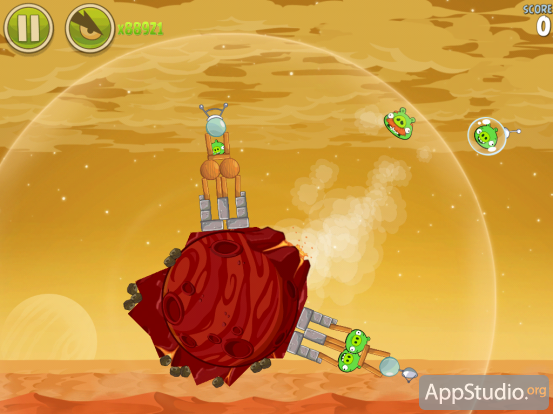 Angry Birds Space: Red Planet