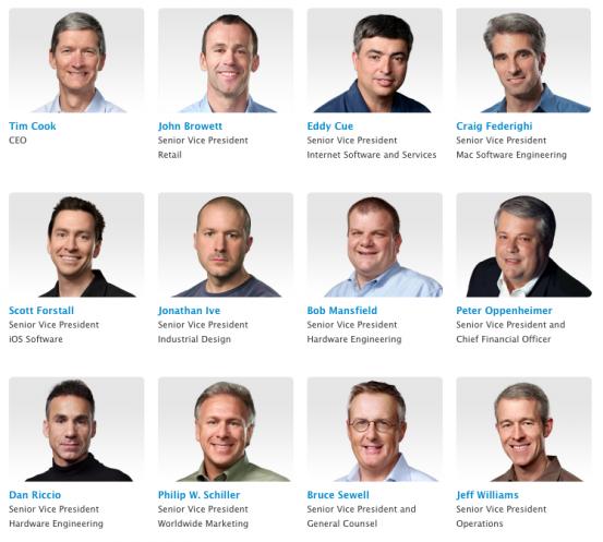 Высшее руководство Apple