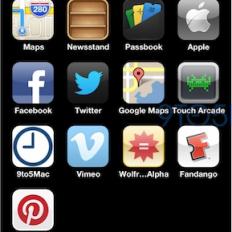 Экран iPhone 5