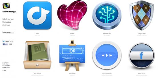 Retina-приложения для MacBook