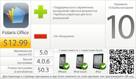 Polaris Office: вердикт проекта AppStudio
