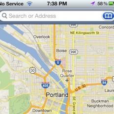 Google Maps в iOS 6