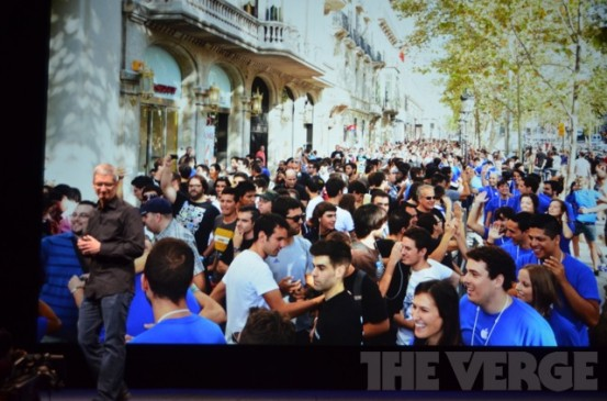 Apple Store в Барселоне