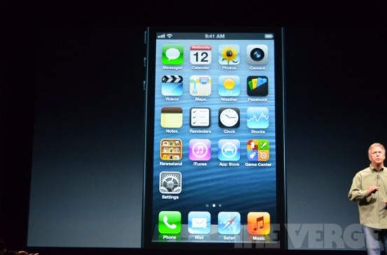 iPhone 5 - новый смартфон Apple