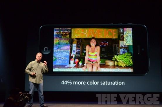 Тонкий экран нового iPhone