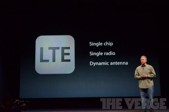 LTE в iPhone 5