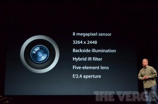 Камера iSight в iPhone 5