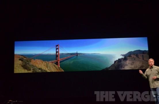 Панорамная съёмка в iPhone 5