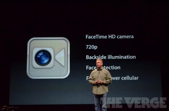 FaceTime-камера в iPhone 5