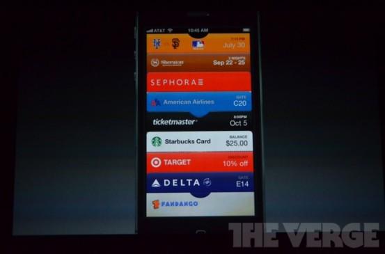 Passbook в iOS 6