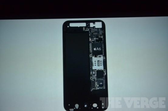 Внутренности iPhone 5