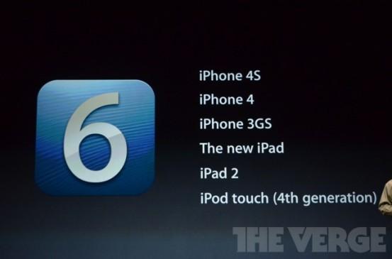19 сентября состоится релиз iOS 6