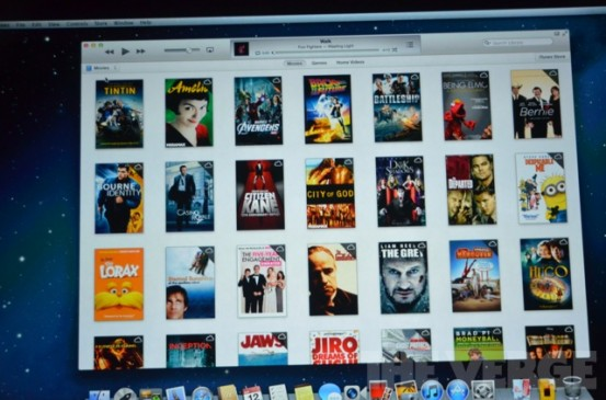 iCloud в iTunes 11