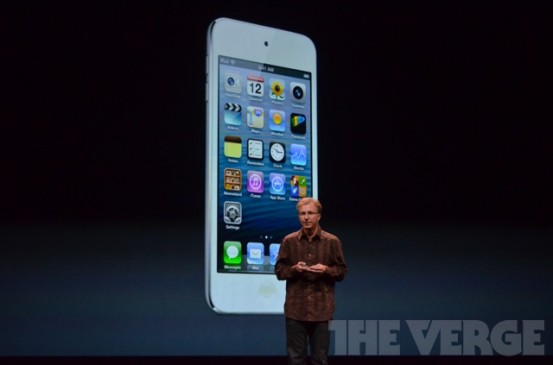 iPod touch 5G получил увеличенный экран