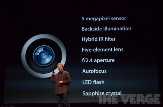 Камера iSight в iPod touch 5G