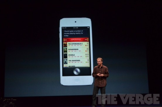 iPod touch 5G поддерживает Siri