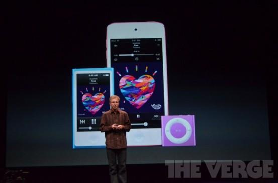 Новые iPod