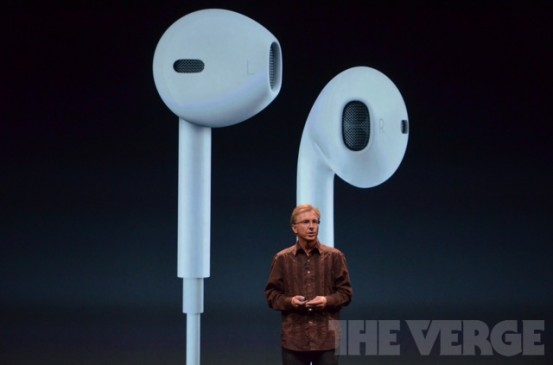 EarPods - новые наушники Apple