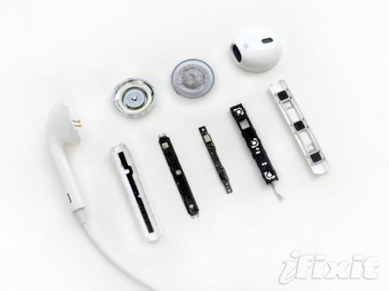 iFixit разобрали EarPods