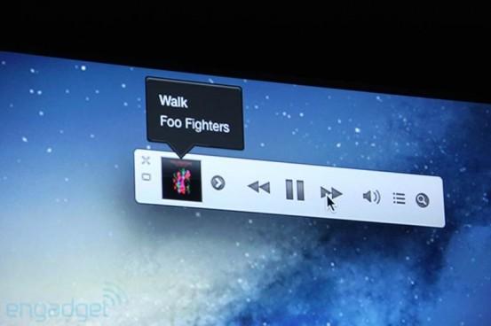 Миниплеер iTunes 11