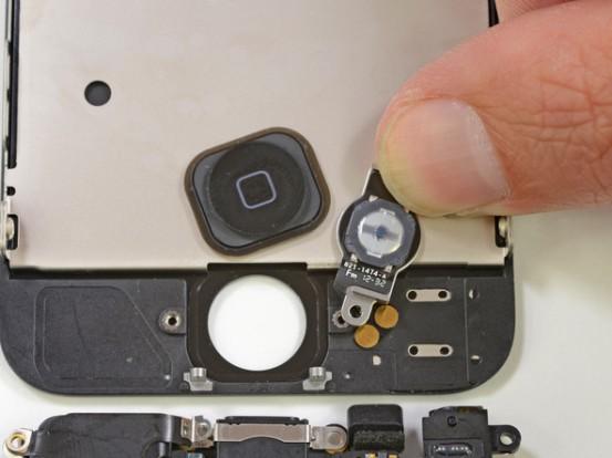 Крепление кнопки Home в iPhone 5