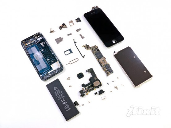 iFixit разобрали iPhone 5