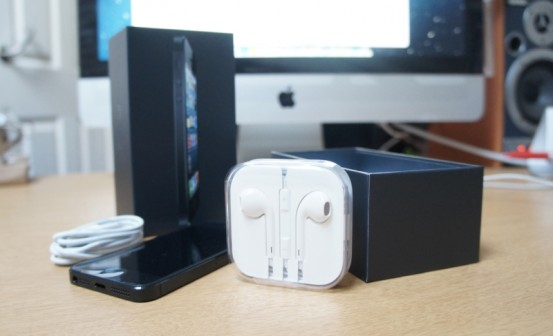 Упаковка iPhone 5