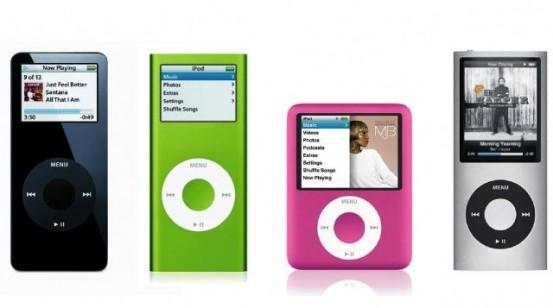 iPod Nano: история в картинках