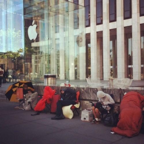 Очередь за iPhone 5