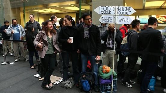 Старт продаж iPhone 5 в Австралии