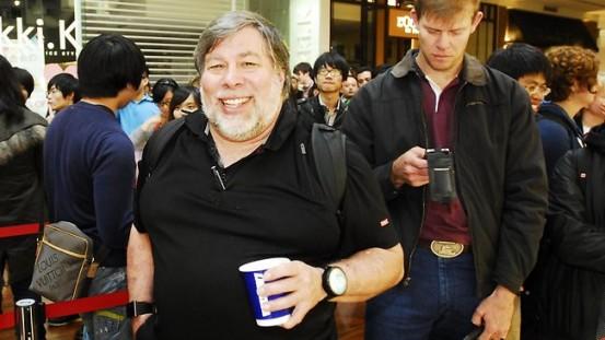 Стив Возняк в австралийском Apple Store