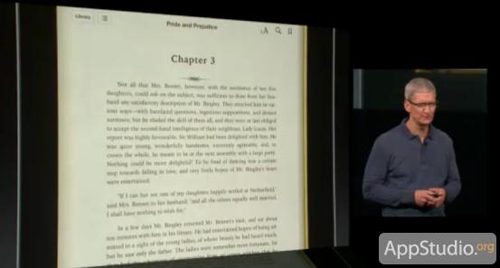 iBooks 3.0 - бесконечная прокрутка текста