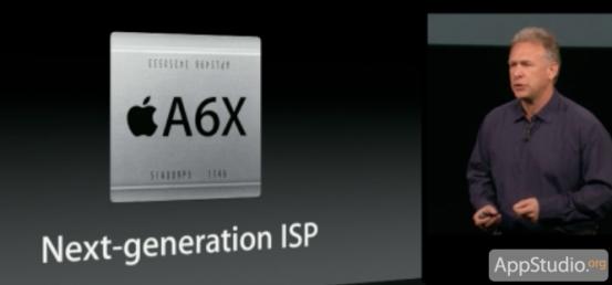 Процессор Apple A6X в iPad 4